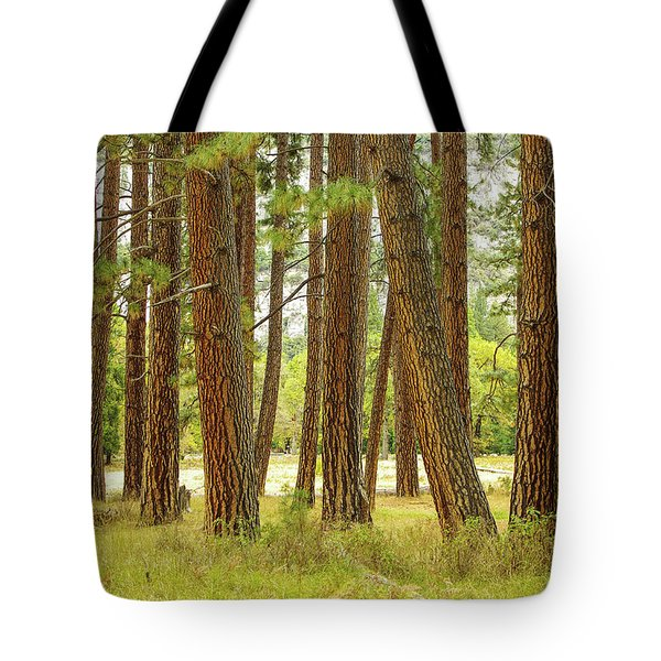 Tote Bag featuring the photograph Yosemite by Jim Mathis