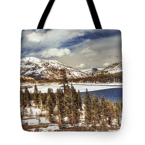 Yosemite Melts Into Spring Tote Bag