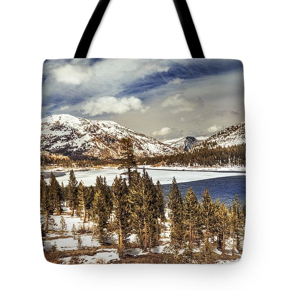 Yosemite Melts Into Spring Tote Bag