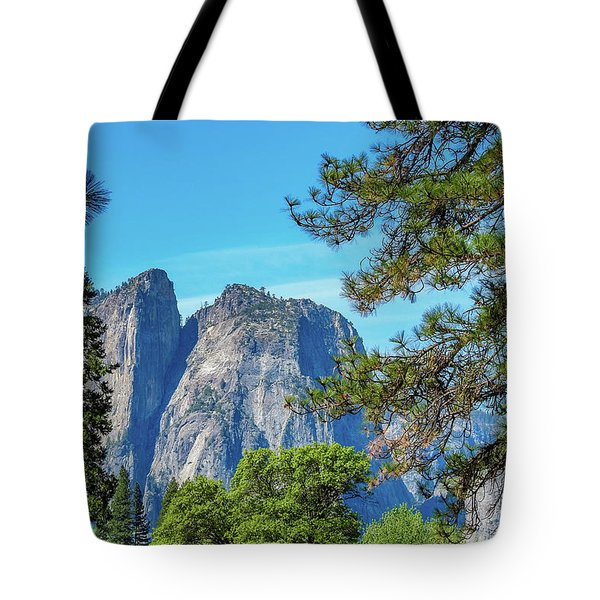 Yosemite Morning Tote Bag