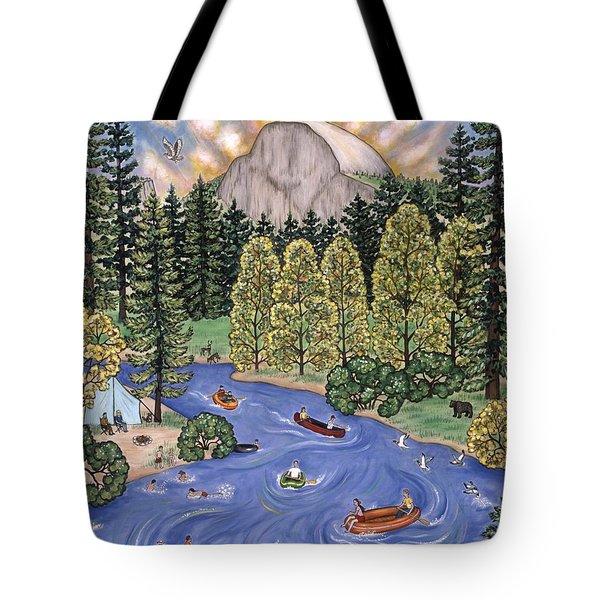 Yosemite National Park Tote Bag by Linda Mears