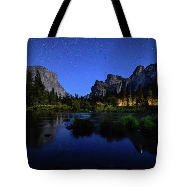 Yosemite Nights Tote Bag