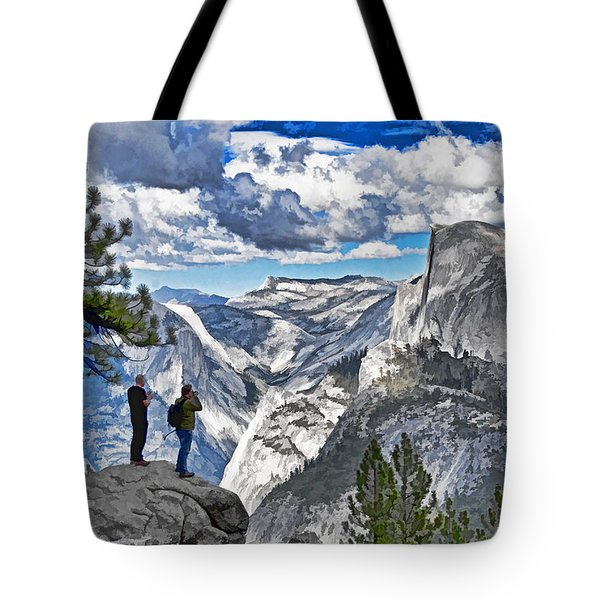 Yosemite Overlook Tote Bag by Dennis Cox WorldViews