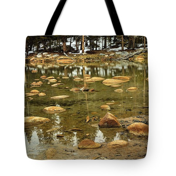 Yosemite Pond Tote Bag