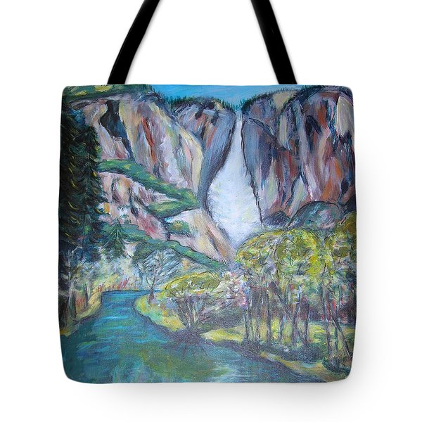 Yosemite Reflections Tote Bag by Carolyn Donnell