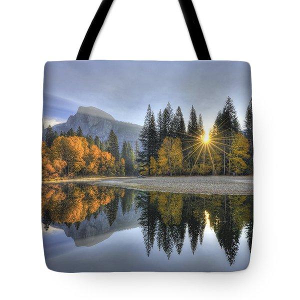 Yosemite Reflections Tote Bag