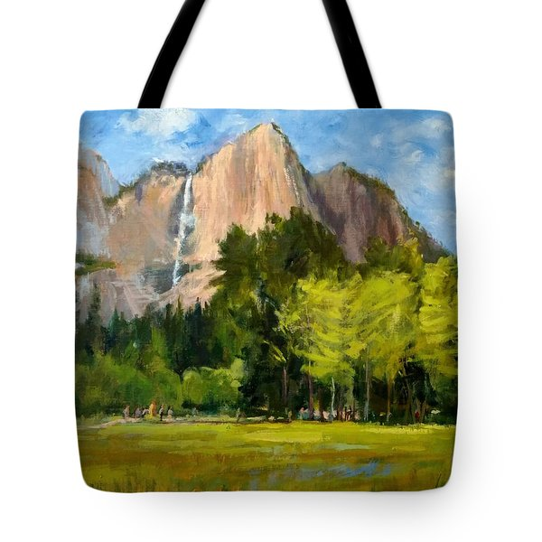 Yosemite - Ribbon Falls Tote Bag
