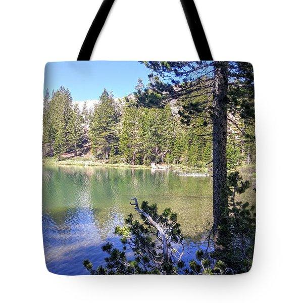 Yosemite Lake Tote Bag