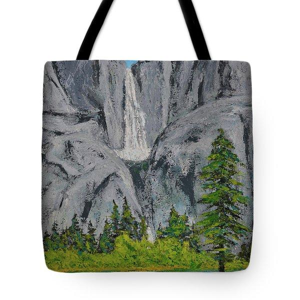 Yosemite Upper Falls Tote Bag