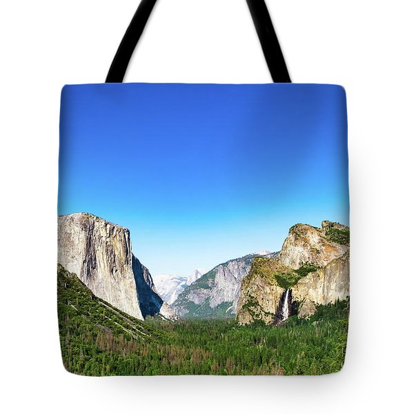 Tote Bag featuring the photograph Yosemite Valley- by JD Mims