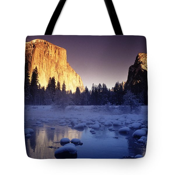 Yosemite Valley Sunset Tote Bag by Michael Howell - Printscapes