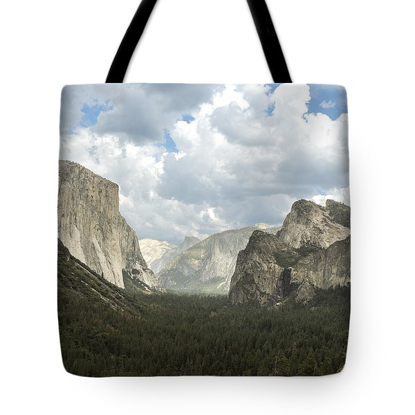 Yosemite Valley Yosemite National Park Tote Bag