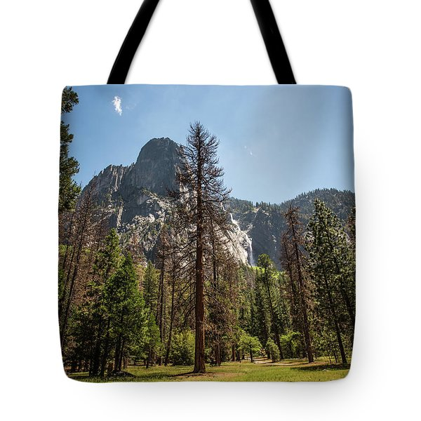 Yosemite View 18 Tote Bag