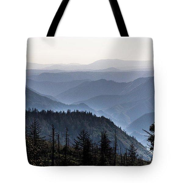 Yosemite View 27 Tote Bag