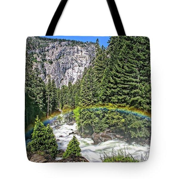 Yosemite View 29 Tote Bag