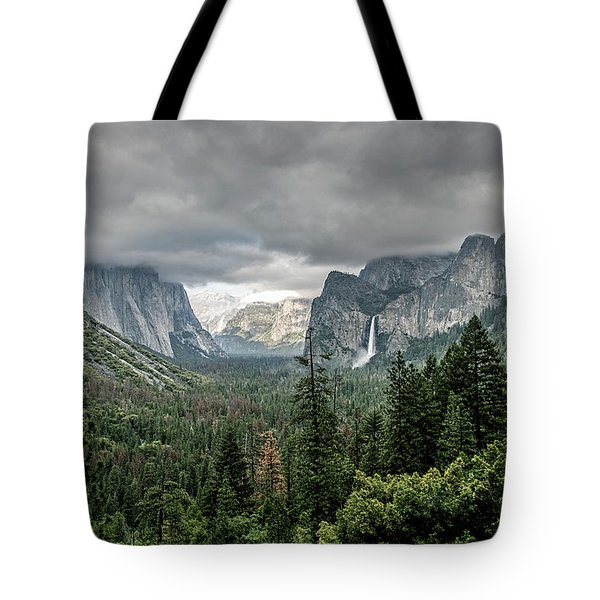Yosemite View 36 Tote Bag