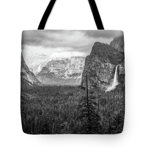 Yosemite View 38 Tote Bag