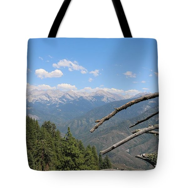 Yosemite View  Tote Bag by Christy Pooschke