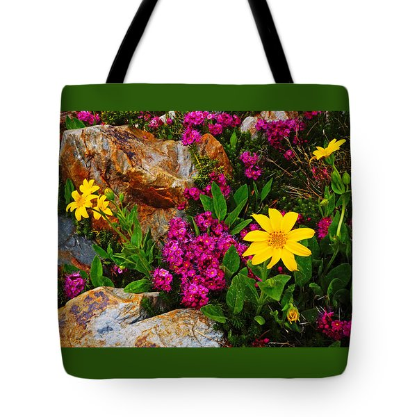 Yosemite Wildflowers Tote Bag
