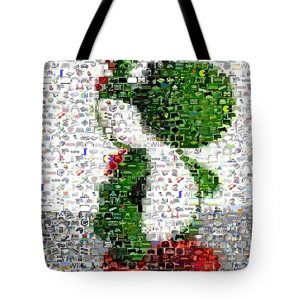 Yoshi Mosaic Tote Bag by Paul Van Scott