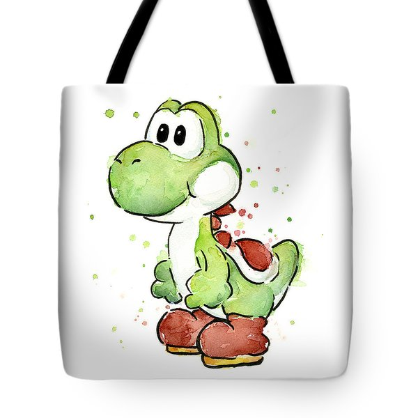 Yoshi Watercolor Tote Bag