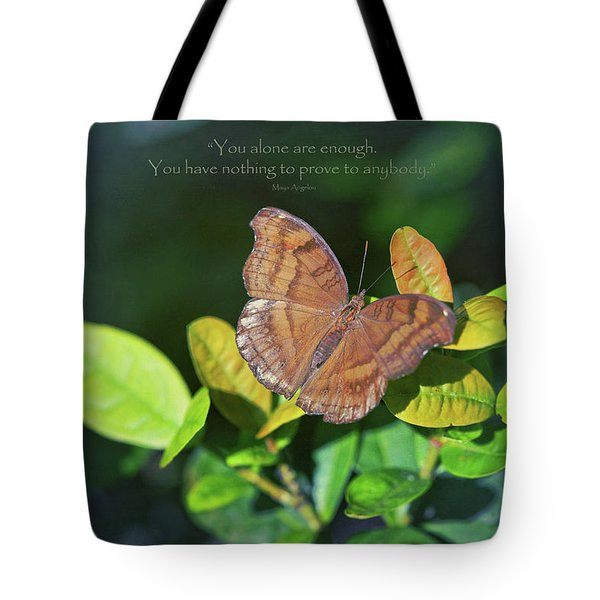 You Alone Are Enough Tote Bag