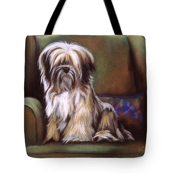 You Are In My Spot Again Tote Bag by Barbara Keith