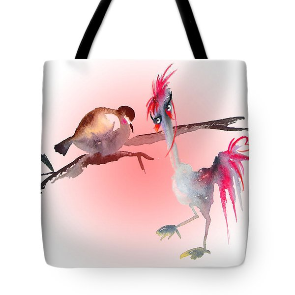 You Are Just My Type Tote Bag by Miki De Goodaboom