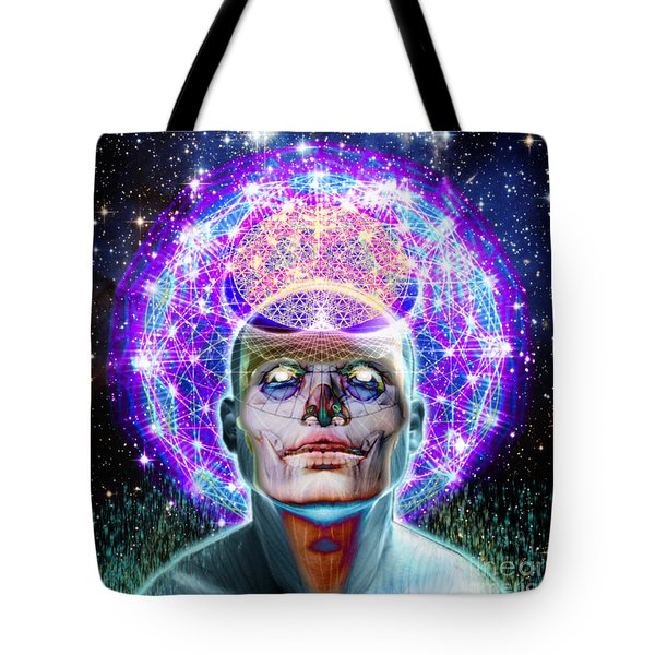 You Are Your Own God Take Responsablility Tote Bag by Tony Koehl