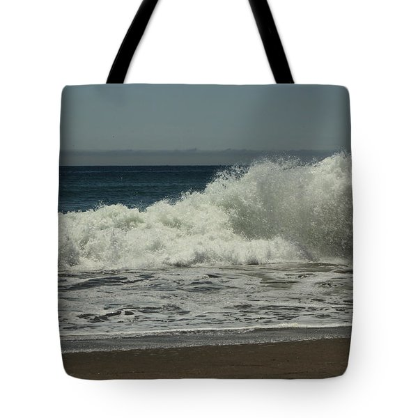 You Came Crashing Into Me Tote Bag by Laurie Search