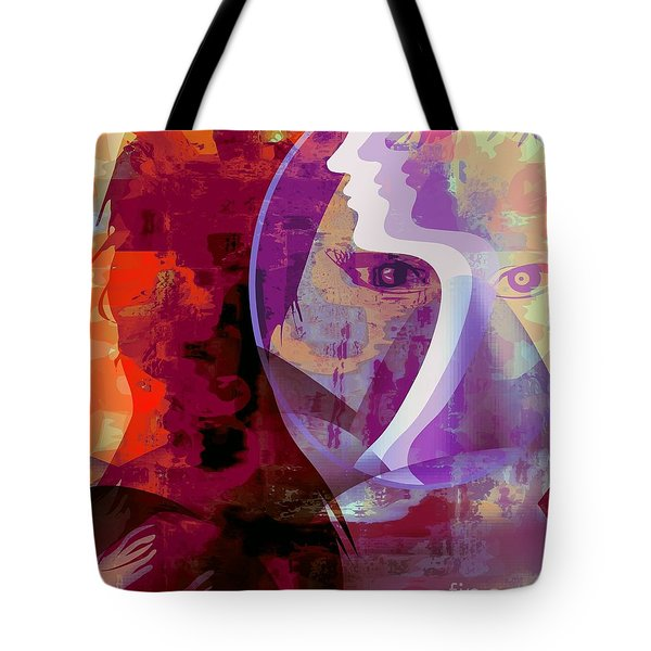 You Can Beat It Tote Bag by Fania Simon