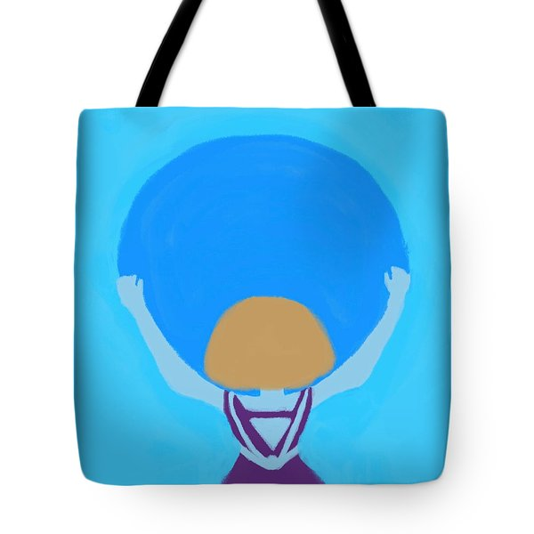 You Can Carry The Moon Tote Bag