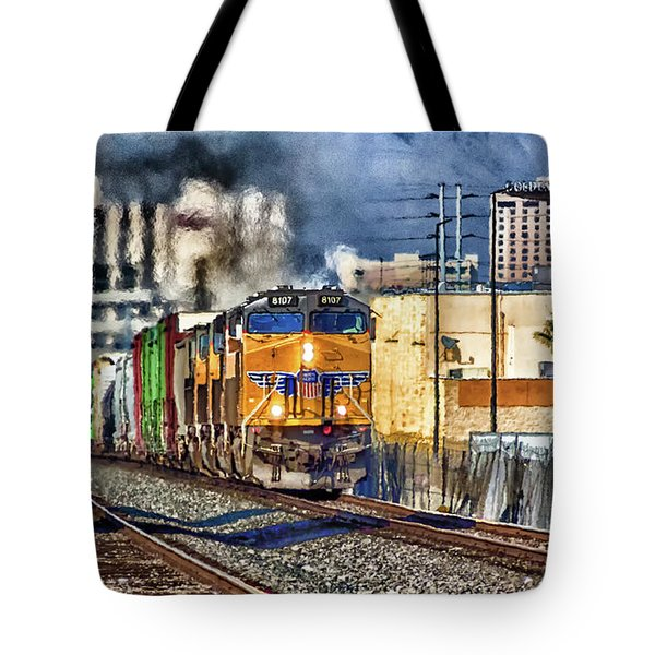 Tote Bag featuring the photograph You Can Go Your Own Way by Michael Rogers