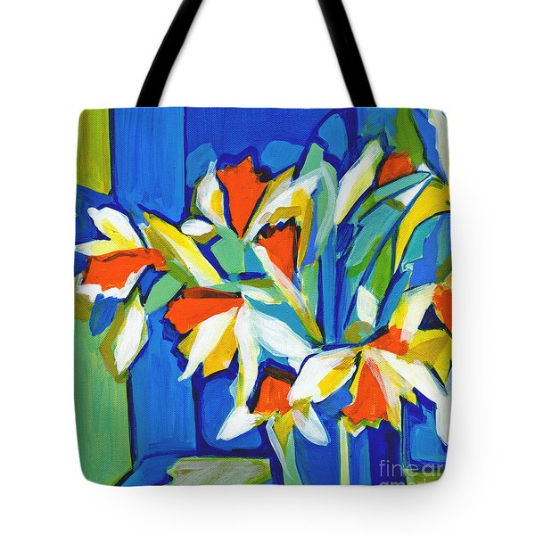 You Can Never Hold Back Spring Tote Bag