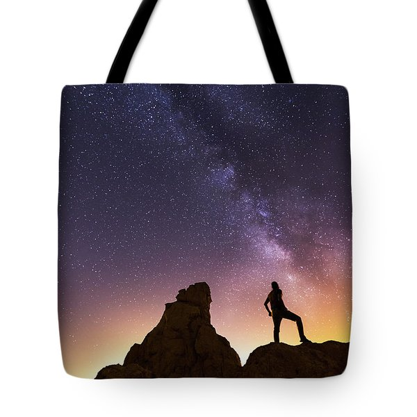 You Cant Take The Sky From Me Tote Bag by Tassanee Angiolillo