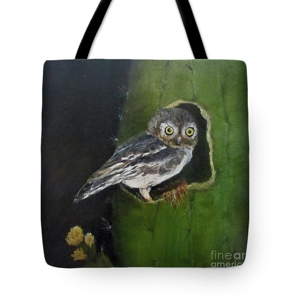 Tote Bag featuring the painting You Caught Me by Roseann Gilmore