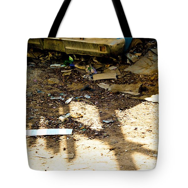 Tote Bag featuring the photograph You Could Save Me by Jez C Self