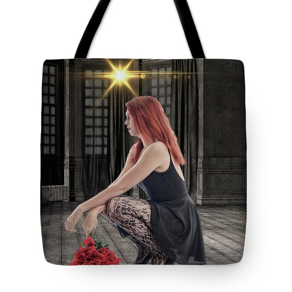 You Dont Bring Me Flowers Tote Bag