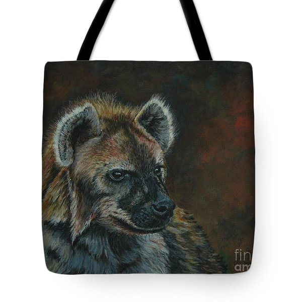 You Don't See Me Laughing......hyena Tote Bag