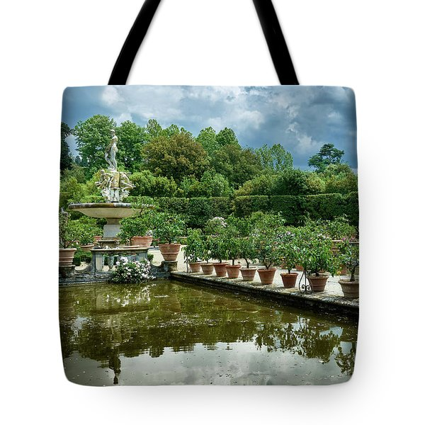 You Have Quite A Garden There Tote Bag