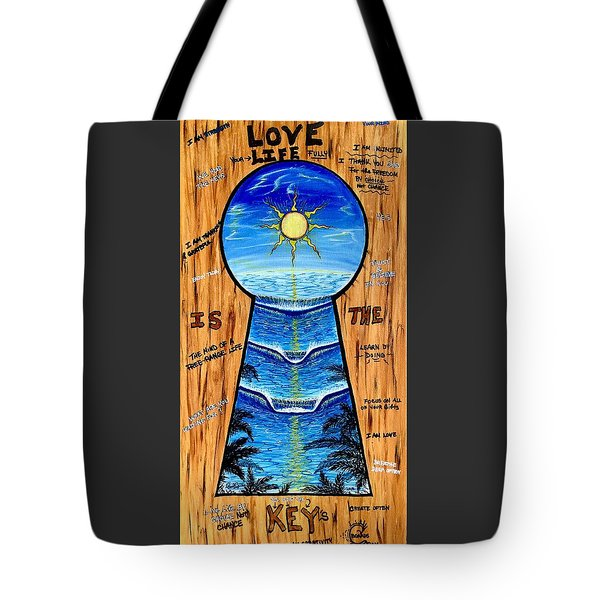 You Hold The Keys Tote Bag