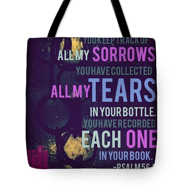 you Keep Track Of All My Tote Bag