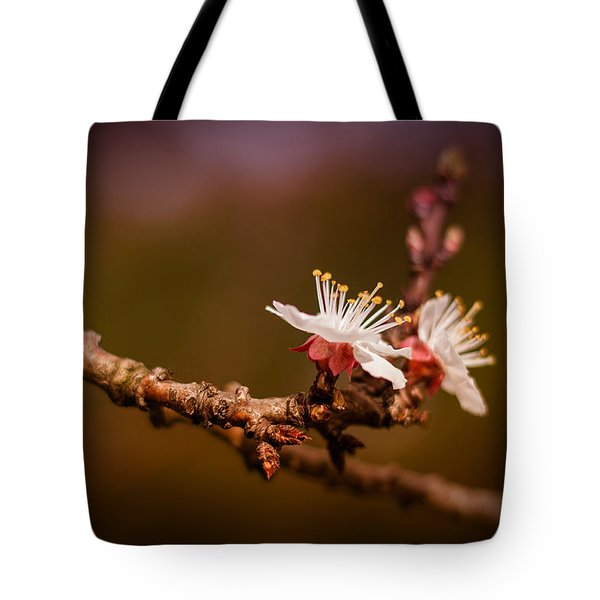 Tote Bag featuring the photograph You Make Me Blossom by Tim Nichols