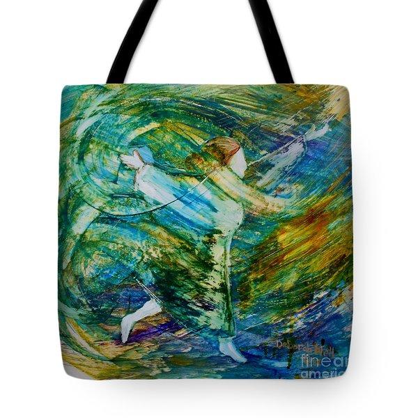 You Make Me Brave Tote Bag