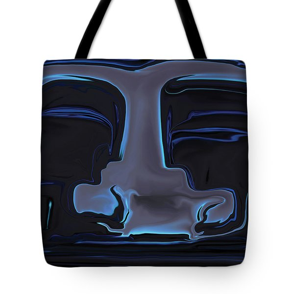 Tote Bag featuring the digital art You N Me by Rabi Khan