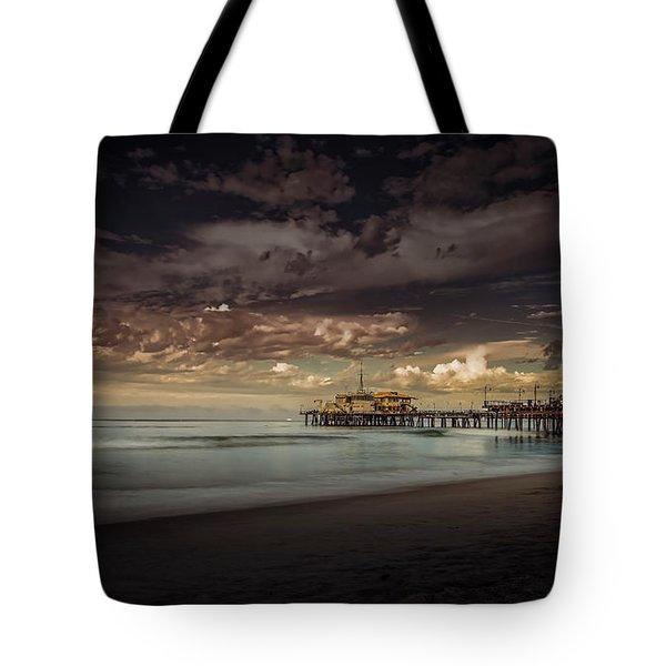 Enchanted Pier Tote Bag