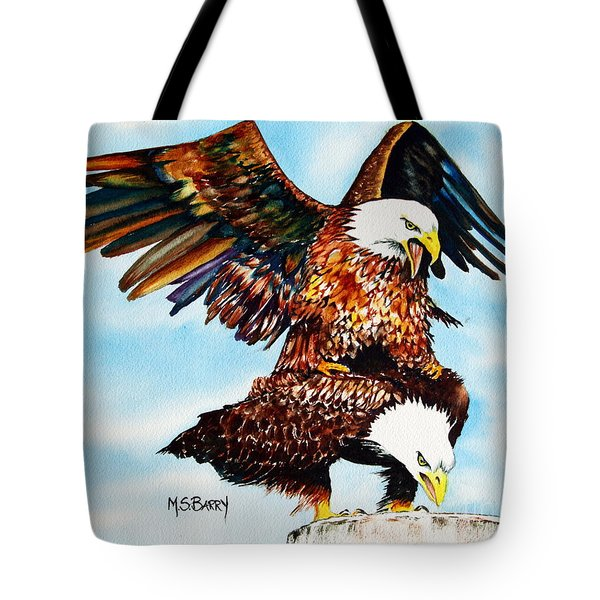 You Ruffle My Feathers Tote Bag