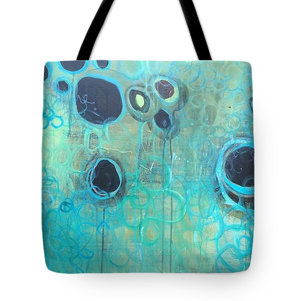 You Said You Wanted To Live By The Ocean Tote Bag by Laurie Maves ART