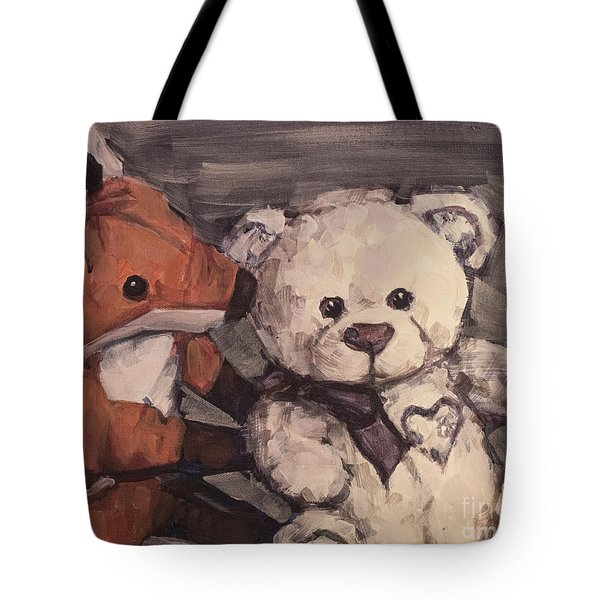 You Should Not Trust Her Tote Bag by Olimpia - Hinamatsuri Barbu