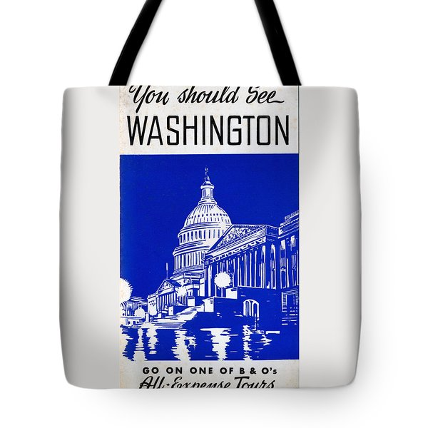 You Should See Washington Tote Bag